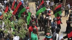 Pro-Biafra protests will continue - activists - http://www.77evenbusiness.com/pro-biafra-protests-will-continue-activists/