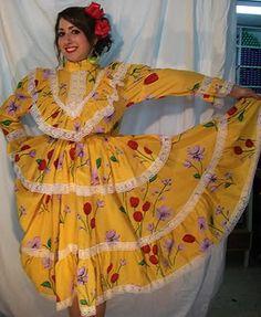 Vestido regional de Chihuahua México