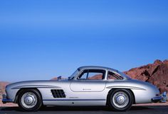 Mercedes Benz #300SL #Gullwing. Source: http://thethrottle.com / #BruceAdams190SL