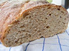 Házi kenyér 5 perc alatt Banana Bread, Desserts, Food, Tailgate Desserts, Deserts, Essen, Postres, Meals, Dessert
