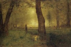 George Inness  The Trout Brook  Oil on canvas  1891