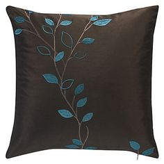 Country+Coffee+Embroidery+Polyester+Decorative+Pillow+Cover+–+USD+$+9.99