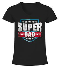 Funny Superhero Dad Tee Shirt
