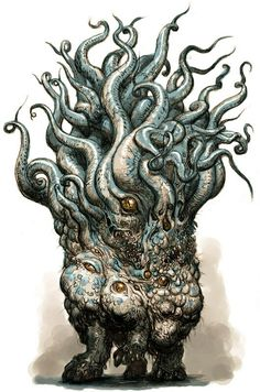 Your daily dose of tentacles. Showcasing Art about Cthulhu mythos, cephalopods, monsters, comics,. Necronomicon Lovecraft, Lovecraft Cthulhu, Hp Lovecraft, Cthulhu Tattoo, Cthulhu Art, Creature Concept Art, Creature Design, Arte Horror, Horror Art