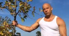 Vin Diesel lança desafio: plante uma árvore para Groot
