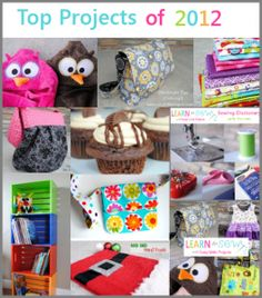 Crazy Little Projects - DIY Craft Ideas and Projects I love her blog. It has tons of ideas for sewing!