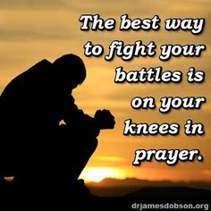 Pray pray pray then, pray some more