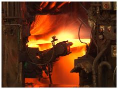 Hot rolled steel action at Tata Steel IJmuiden. Tata Steel, Master Chief, Steampunk, Action, Inspirational, Classic, Hot, Industrial, Derby