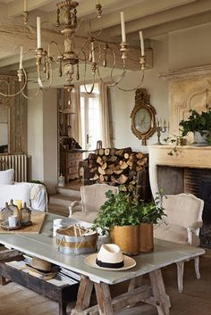 Marvelous French Country Dining Rooms Decoration Ideas - Page 59 of 99 Dining Room Decor, Country Decor, French Country Kitchens, French Country Dining, Country Dining Rooms, French Decor, French Interior, French Country Dining Room Furniture, Country House Decor
