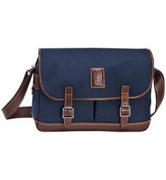 Besace Bleu Longchamp bleu - Galeries Lafayette