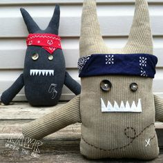 The Geocaching adventurer Monsters.  Geocaching swag like you've never seen.
