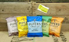 Chips Pipers - Made by Farmers Chips - Faits par des fermiers