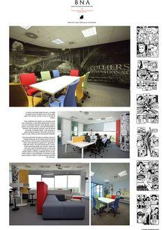 Y Office – Colliers International - Bienala Naţională de Arhitectură 2014 Exhibitions, Loft, Bed, Furniture, Home Decor, Decoration Home, Stream Bed, Room Decor, Lofts