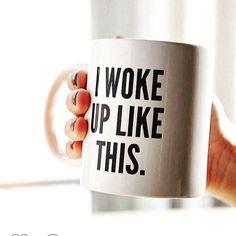 Single Serve Coffee Makers & K-Cup Pods Coffee Quotes Funny, Funny Coffee Mugs, Coffee Break, Coffee Time, Single Serve Coffee, My Cup Of Tea, Wake Me Up, Keurig, Coffee Maker