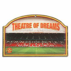 Manchester United Wood Sign WinCraft. $20.78
