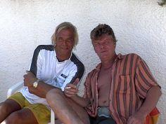 Peter en Ferry in Spanje 2002