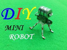 How to make a Mini Robot version2 - DIY Tutorial