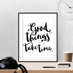 Life quotes Positive quote Office poster Dorm by LUCIAandLUCIANA