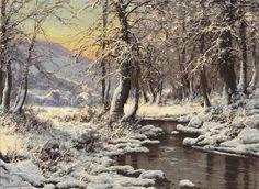 Зимние пейзажи...Laszlo Neogrady. Обсуждение на LiveInternet - Российский Сервис Онлайн-Дневников