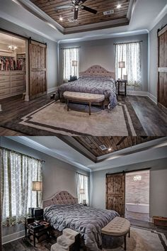 Master Bedroom Addition, Master Bedroom Layout, Modern Farmhouse Bedroom, Farmhouse Master Bedroom, Modern Farmhouse Plans, Bedroom Layouts, Home Bedroom, Dream Master Bedroom, Master Bedroom Makeover