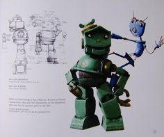 Living Lines Library: Robots (2005) - Character Development