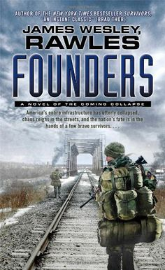 Founders: A Novel of the Coming Collapse by James Wesley Rawles http://www.amazon.com/dp/1439172838/ref=cm_sw_r_pi_dp_rRoovb0GNRAMP