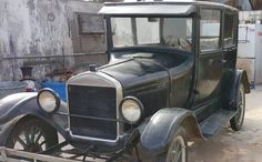 Aside from an older respray with years of patina, this 1926 Ford Model T Tudor is described as all original and is in running and driving condition. #Ford, #ModelT, #Tudor