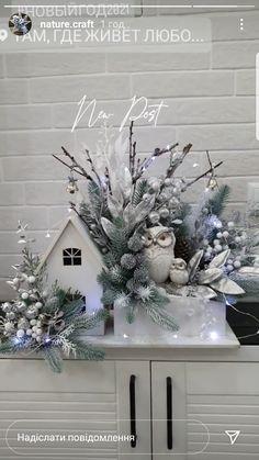 Christmas Centerpieces, Christmas Tree Decorations, Christmas Wreaths, Christmas Crafts, Xmas, Holiday Decor, Flowers, Diy, Home Decor
