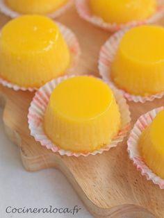 Vous connaissez les quindim ? Ce sont des gâteaux brésiliens à base de jaune d'œuf et de noix de coco râpée. Le tout cuit au four au bain-marie et une fois démoulés, on dirait de petits soleils. Il n'y a pas longtemps, j'ai fait un Concorde (un gâteau de Gaston Lenôtre) et il m'est resté 6 jaunes