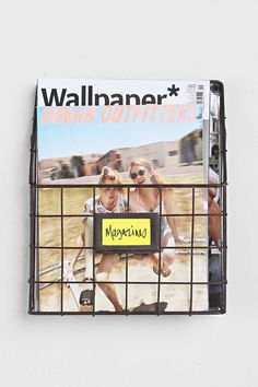 Magazine Wall Rack