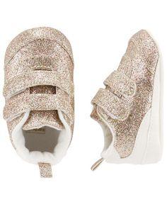 10179d74731 Carter s Glitter Sneaker Crib Shoes Kid Shoes