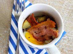 Breakfast mug Humble Potato, Potato Recipes, Pot Roast, Family Meals, Easy Meals, Challenge, Potatoes, Mugs, Breakfast