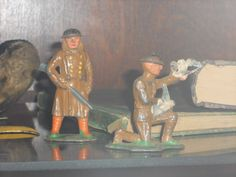 Day 42 of 365 Days of Boulderado Photos ~ Iron Toy Soldiers World War One, First World, Photo Projects, Toy Soldiers, Gun, Communication, Toys, Painting, World War I