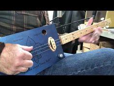 3 String Thursday - Mike Snowden - Thursday Blues Cigar Box Guitar, Guitars, Thursday, Blues, Guitar