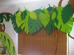 Jungle Theme Room Valance Craft