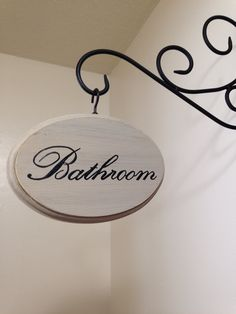 This 5x7 inch sign is made of wood and hand painted/distressed to fit a variety of decor. **The iron hanger does not come with the sign, but is available at any local hardware store for under $5. To make your sign double sided (beveled edge on both sides), please add the following link to your cart upon checkout. Double Sided: https://www.etsy.com/listing/208979137/double-sided-add-on? The following options are available as add ons to your order. Please add these to your cart upon…