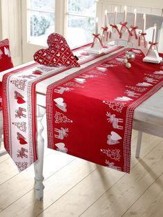Apelt Weihnachtliche Tischwäscheserie