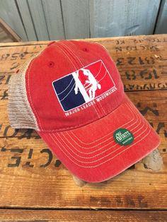 Major League Woodwalker Trucker Cap - Red