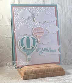 Debbie's Designs: Create with Connie & Mary Saturday Blog Hop!Debbie's Designs: Create with Connie & Mary Saturday Blog Hop!Debbie's Designs: Create with Connie & Mary Saturday Blog Hop using Stampin' Up! Lift Me Up and Up & Away Thinlits Dies. Debbie Henderson. #stampinup #debbiehenderson #debbiesdesigns #createwithconnieandmary #liftmeup #upandaway #balloon #hotairballoon