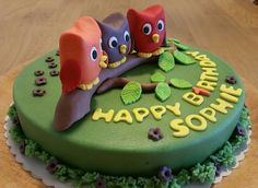Happy Birthday Sophie - wünschen die Geburtstags-Eulen :-) Happy Birthday, Birthday Cake, Desserts, Birthday, Backen, Happy Aniversary, Happy B Day, Birthday Cakes, Deserts