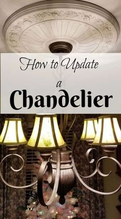 If you want a quick and fun change for your dining room decor, this How to Update a Chandelier is such an easy DIY. Outdoor Chandelier, Diy Chandelier, Thrifty Decor, Diy Home Decor, Blue Fall Decor, Apple Barrel, Interior Design Tips, Home Renovation, Seasonal Decor