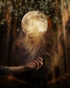 Read This Article To Better Your Photography Skills Beautiful Fantasy Art, Beautiful Moon, Fantasy Landscape, Moon Art, Moon Moon, Whimsical Art, Photo Manipulation, Dark Art, Art Photography
