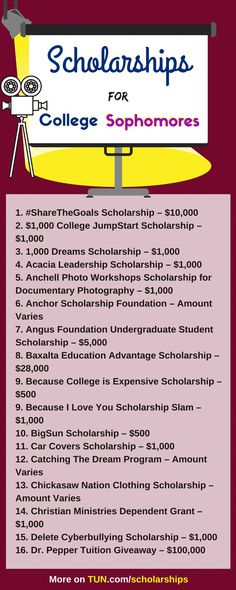 Scholarships For College Sophomores College Here is a selection of for you! - College Scholarships Tips Grants For College, Financial Aid For College, College Planning, Online College, Education College, College Tips, College Savings, College Ready, College Mom