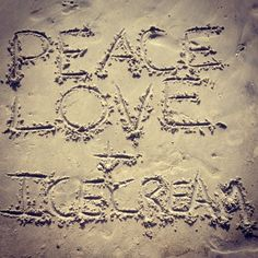 Peace, Love & Ice Cream