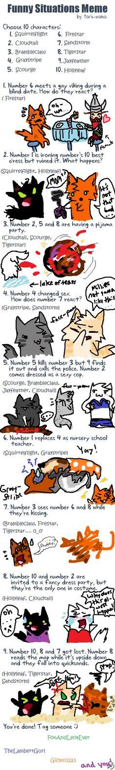 Warrior Cat Meme Deviantart.com/Runtyiscute