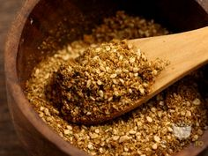 Za'atar Food Crush, Spice Mixes, Granola, Cooking Tips, Broccoli, Gem, Oatmeal, Spices, Herbs