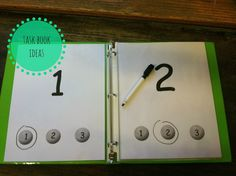 Little Miss Kimberly Ann: Task Book Ideas