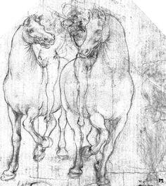 Leonardo Da Vinci, Horses