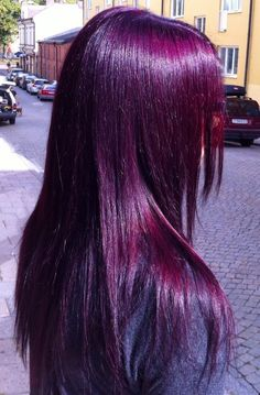 Do you want dark purple hair color? We have pictures of Amazing Dark Purple Hair Color Ideas that will inspire the purple diva in you! Dark Purple Hair Color, Hair Color Streaks, Pretty Hair Color, Hair Color For Black Hair, Purple Burgundy Hair, Dark Violet Hair, Cabelo Inspo, Creative Hair Color, Dye My Hair