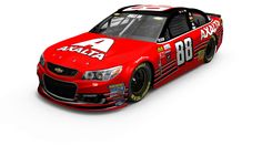 Dale Jr.'s final ride at Homestead is the throw back of his 1999 Budweiser car. It's a beauty.